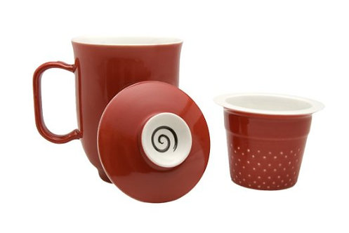 Steeping Mug Red