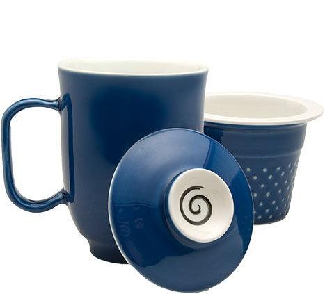 Steeping Mug Blue