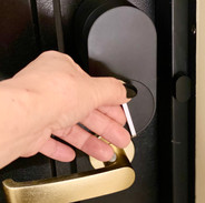 玄関オートロックドア開錠時