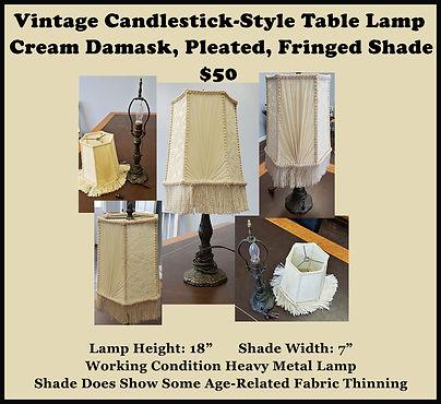 small metal lamp w fringe shade.jpg
