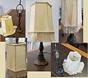 small metal lamp w fringe shade (2).jpg