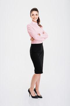 Jovem bisinesswoman