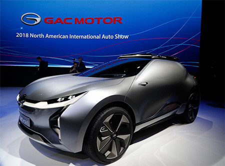 GAC 2018 concept car image used in a blog post about concept car wrapping by Autowrap Centre Liverpool