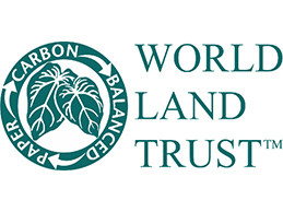 Logo of World Land Trust used in a blog post by EP Cowens about carbon balancing and offsetting