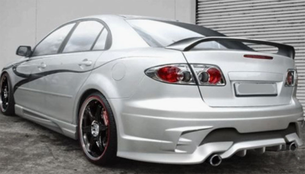 Image of a modded Mazda 6 Used in a blog post about Japanese car tuning by Autowrap Centre Liverpool