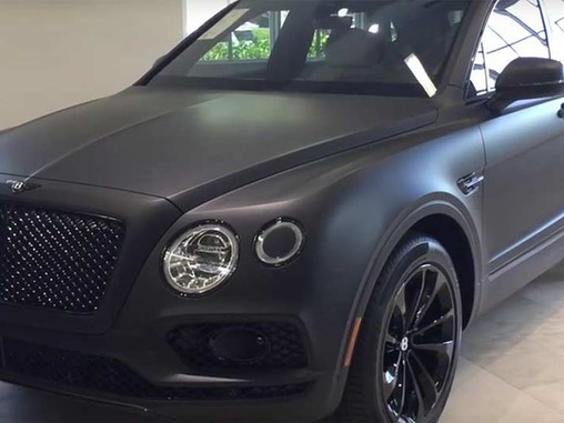 Own The Stealth Look With A Matte Black Car Wrap