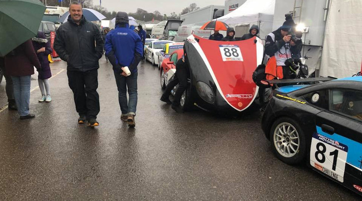 A wet day at Oulton Park