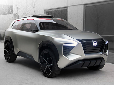 Image of the Nissan Xmotion concept car 2018 used in a blog post by Autowrap Centre Liverpool about wrapping vinyl on concept cars