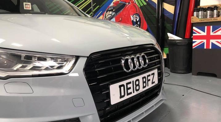 Audi's signature grey