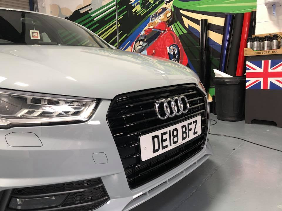 Audi Dechrome