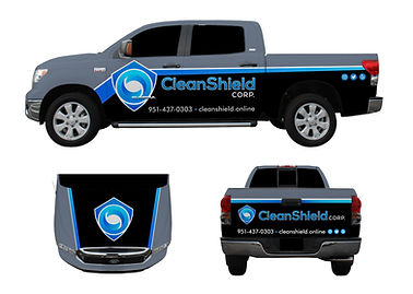 Toyota Tundra CleanShield Graphics Proof