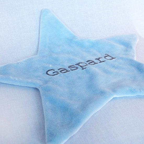 L'étoile douce bleue