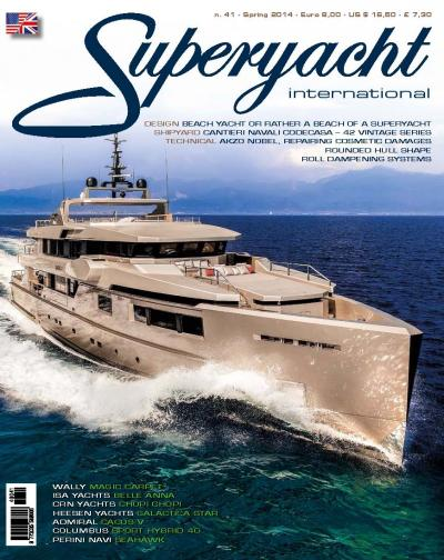 cover magazine, superyachts