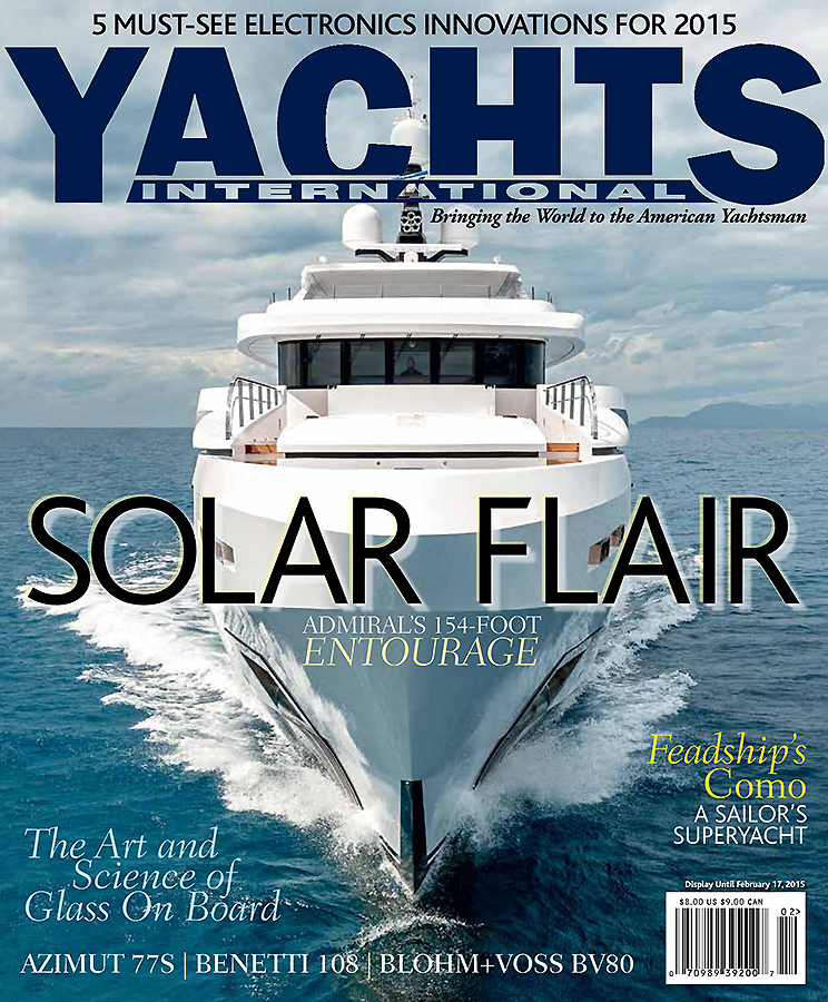cover magazine, yachts international