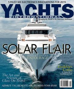 cover magazine, yachts international