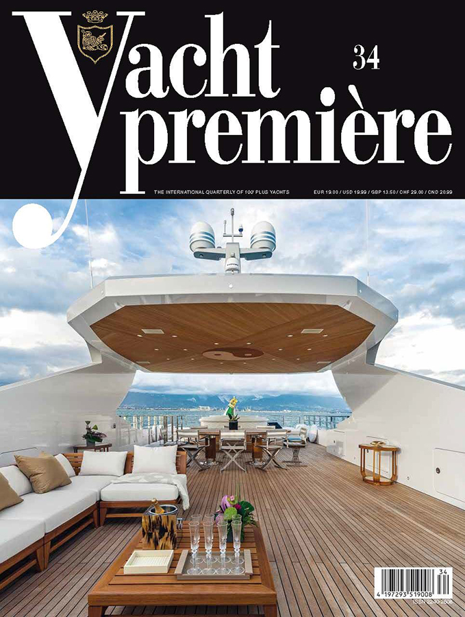 cover magazine, yachts premiere