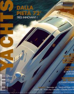 cover magazine, yachts italia