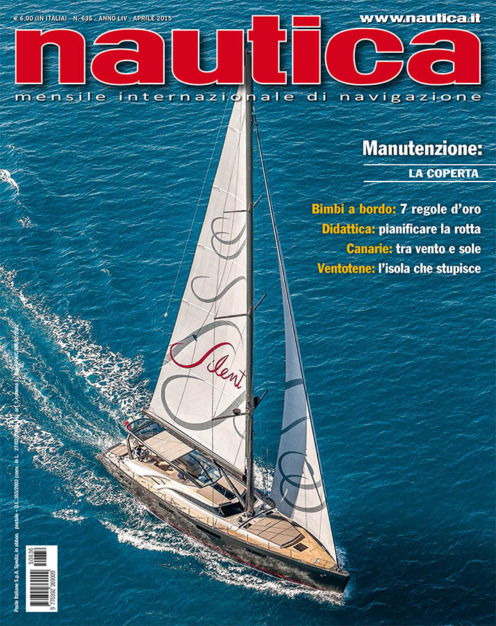 cover magazine, nautica