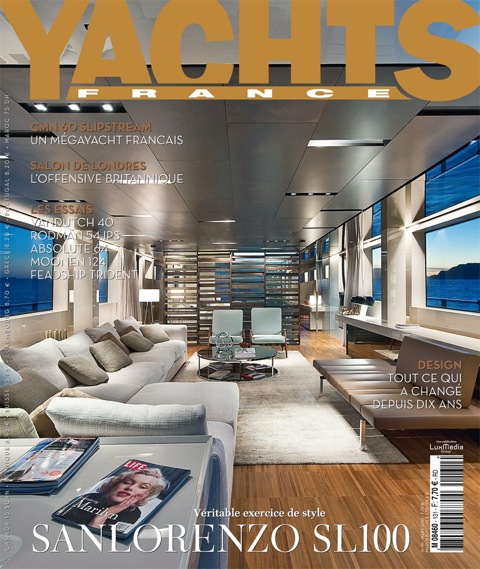 cover magazine, yachts france