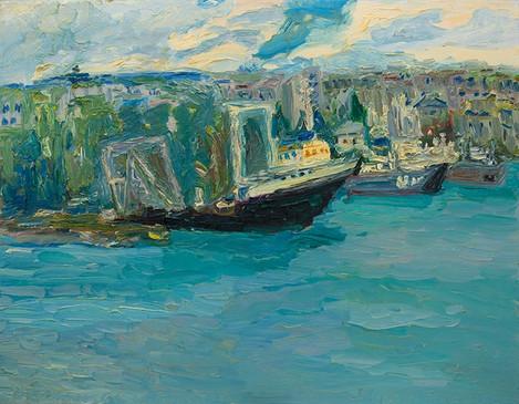 Стрілецька бухта у жовтні 2012