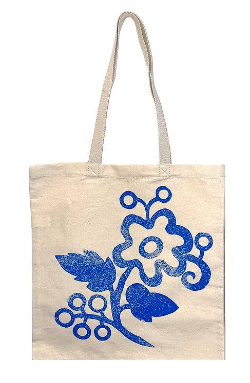 Шопер з синьою квіткою