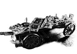 Augustbrunch Wagen