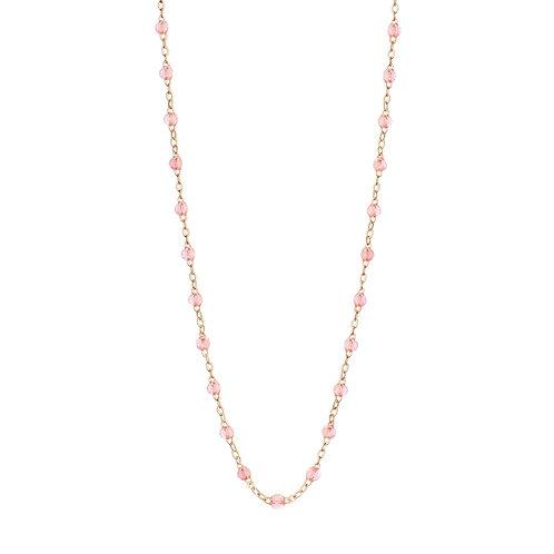 Collier Classique sparkle rosée Gigi Clozeau