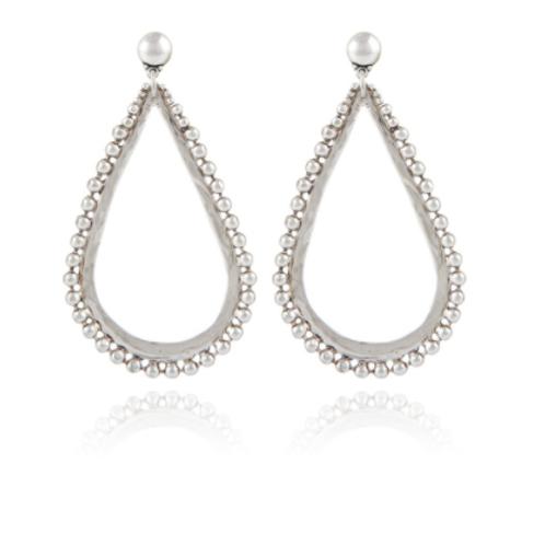 Boucles d'oreilles Bibou argent GAS bijoux