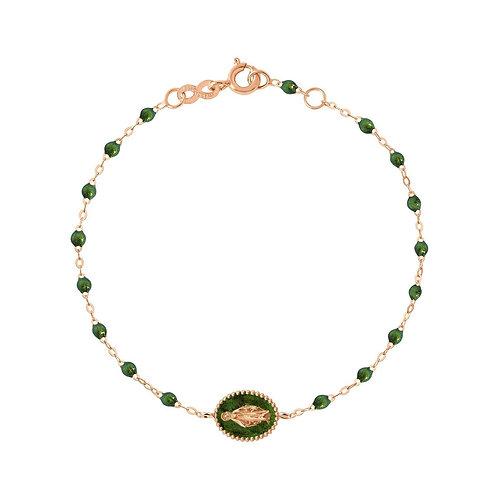 Bracelet Madone résine scarabée GIGI CLOZEAU