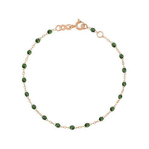 Bracelet scarabée Classique Gigi Clozeau or rose 17 cm