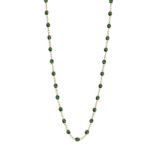 Collier Classique vert scarabée Gigi Clozeau