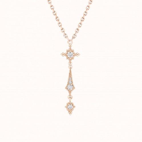 Stella Collier simple Or Jaune et Diamants STONE PARIS