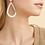 Thumbnail: Boucles d'oreilles Bibou argent GAS bijoux