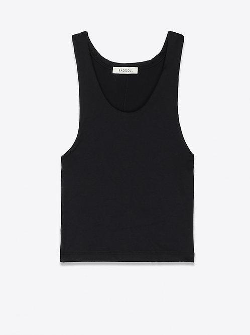 Teeshirt Workout Black RAGDOLL LA