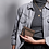 Thumbnail: Porte Monnaie Claris Virot Cuir Olivia Doré