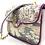Thumbnail: Sac Coton Mini Ava Opale CLARIS VIROT