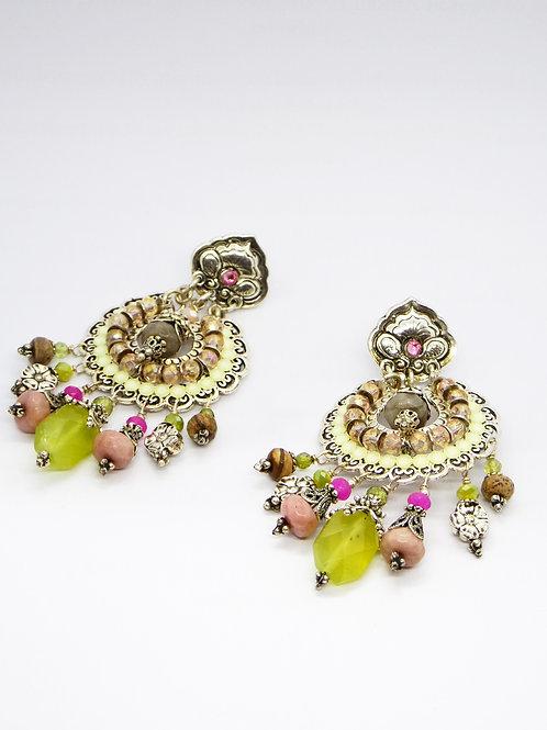 Boucles d'oreilles Aicha argent GAS bijoux