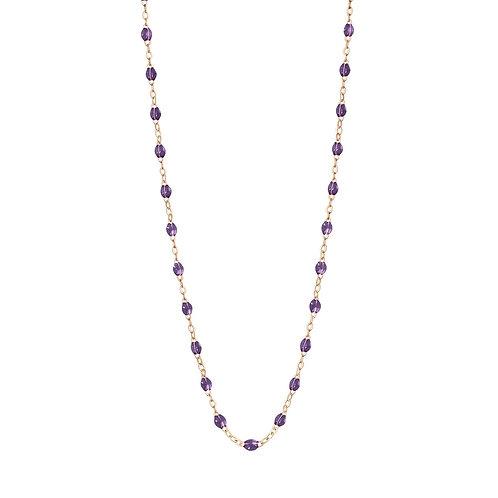 Collier Classique violet Gigi Clozeau