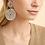 Thumbnail: Boucles d'oreilles Onde Lucky argent GAS bijoux