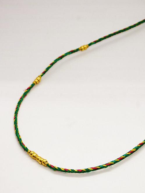 Collier Bellagio or GAS bijoux