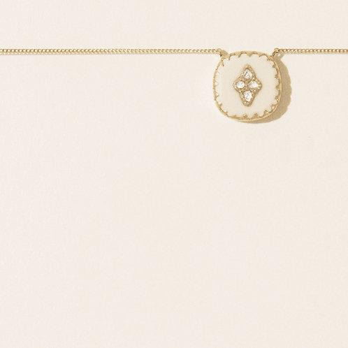 pierrot N.2 Moonstone necklace Pascale Monvoisin