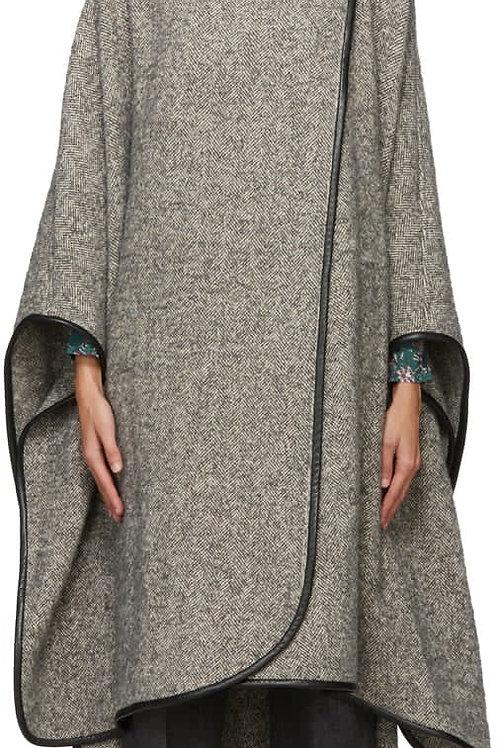 Manteau cape Gomaha gris Isabel Marant