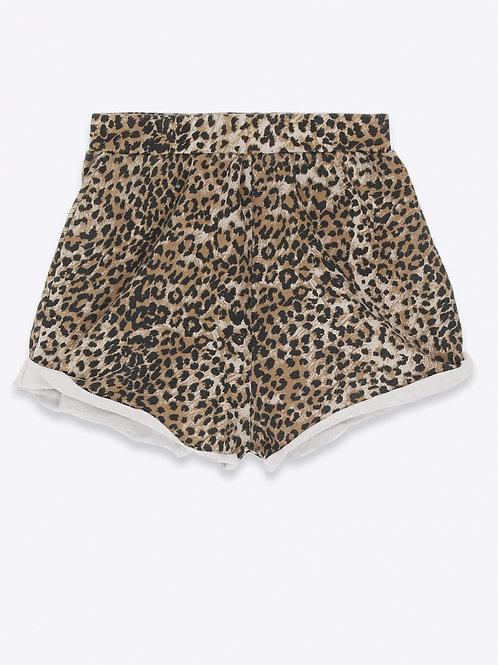 Short Sweat Brown Leopard RAGDOLL LA