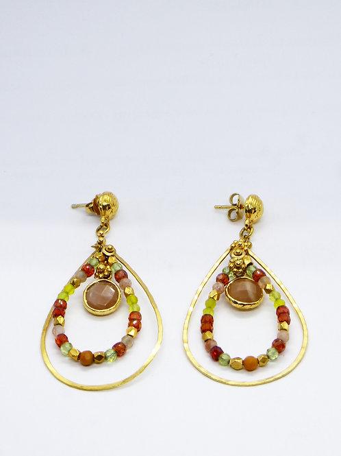 Boucles d'oreilles Orphée mini or GAS bijoux