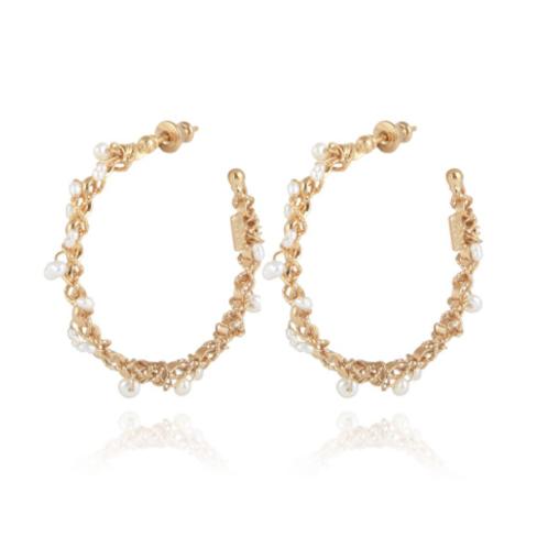 Boucles d'oreilles créoles Orphée or GAS bijoux