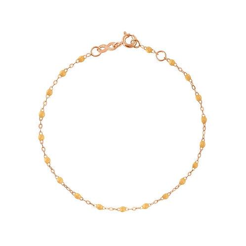 Bracelet nude Classique Gigi Clozeau or rose 17 cm