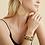 Thumbnail: Boucles d'oreilles Bibis raphia or GAS bijoux