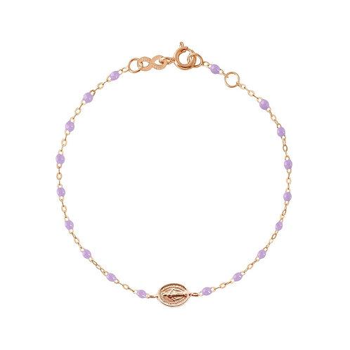Bracelet Parme Madone or rose GIGI CLOZEAU