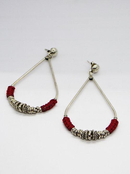 Boucles d'oreilles Zizanie argent GAS bijoux