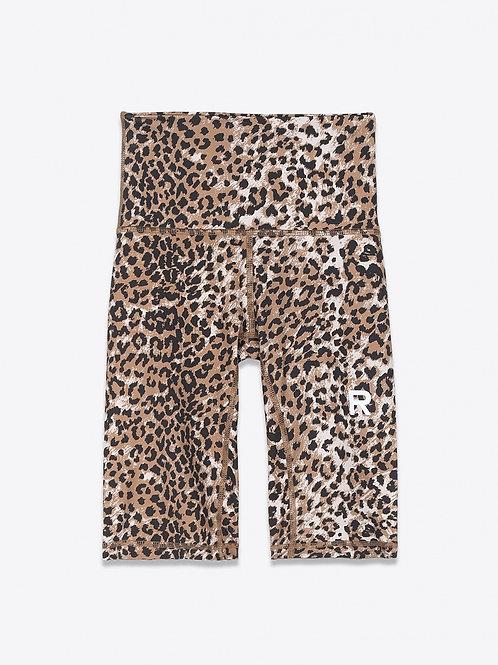 Shorts Workout Biker Brown Leopard RAGDOLL LA